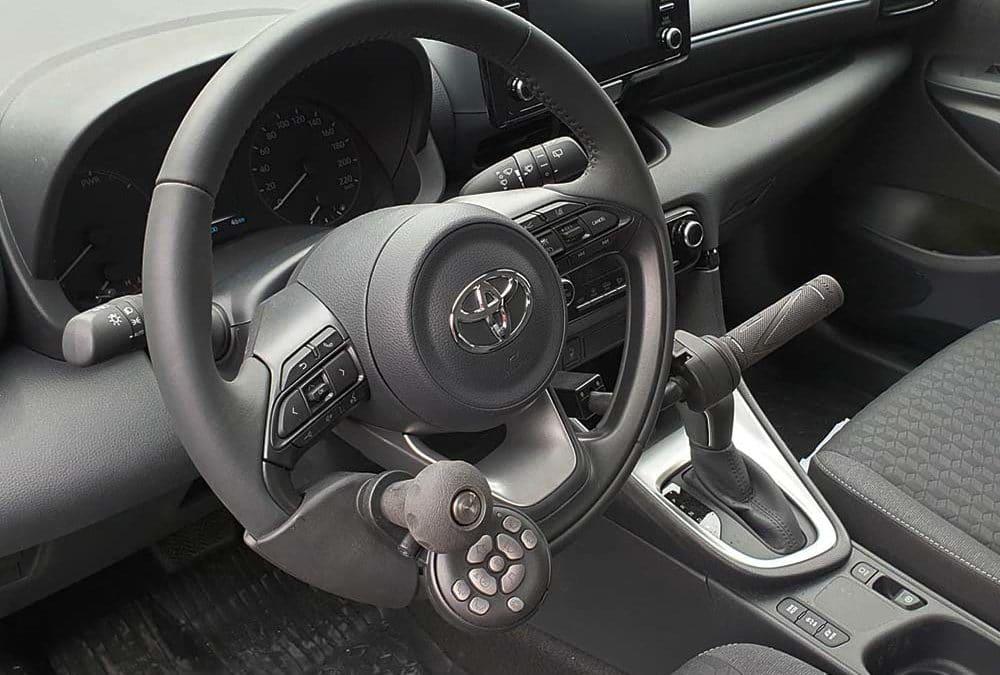 Aménagement handicap sur Toyota Yaris IV