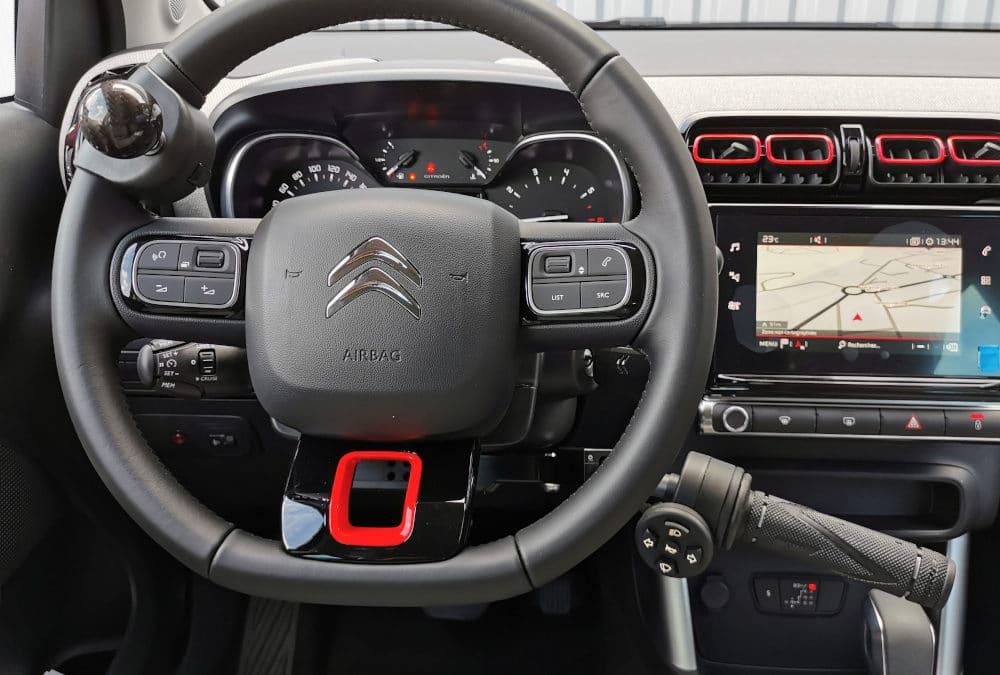 Installation de commandes au volant sur Citroën C3 Aircross