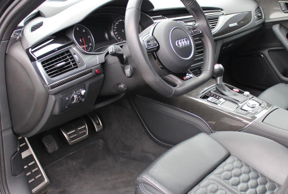 Adaptation d'un accélérateur pied gauche sur Audi RS6