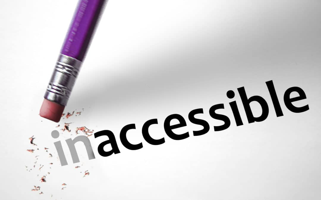Accessibility, more or less