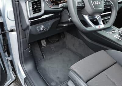 Aménagement d'un accélérateur pied gauche sur Audi Q5
