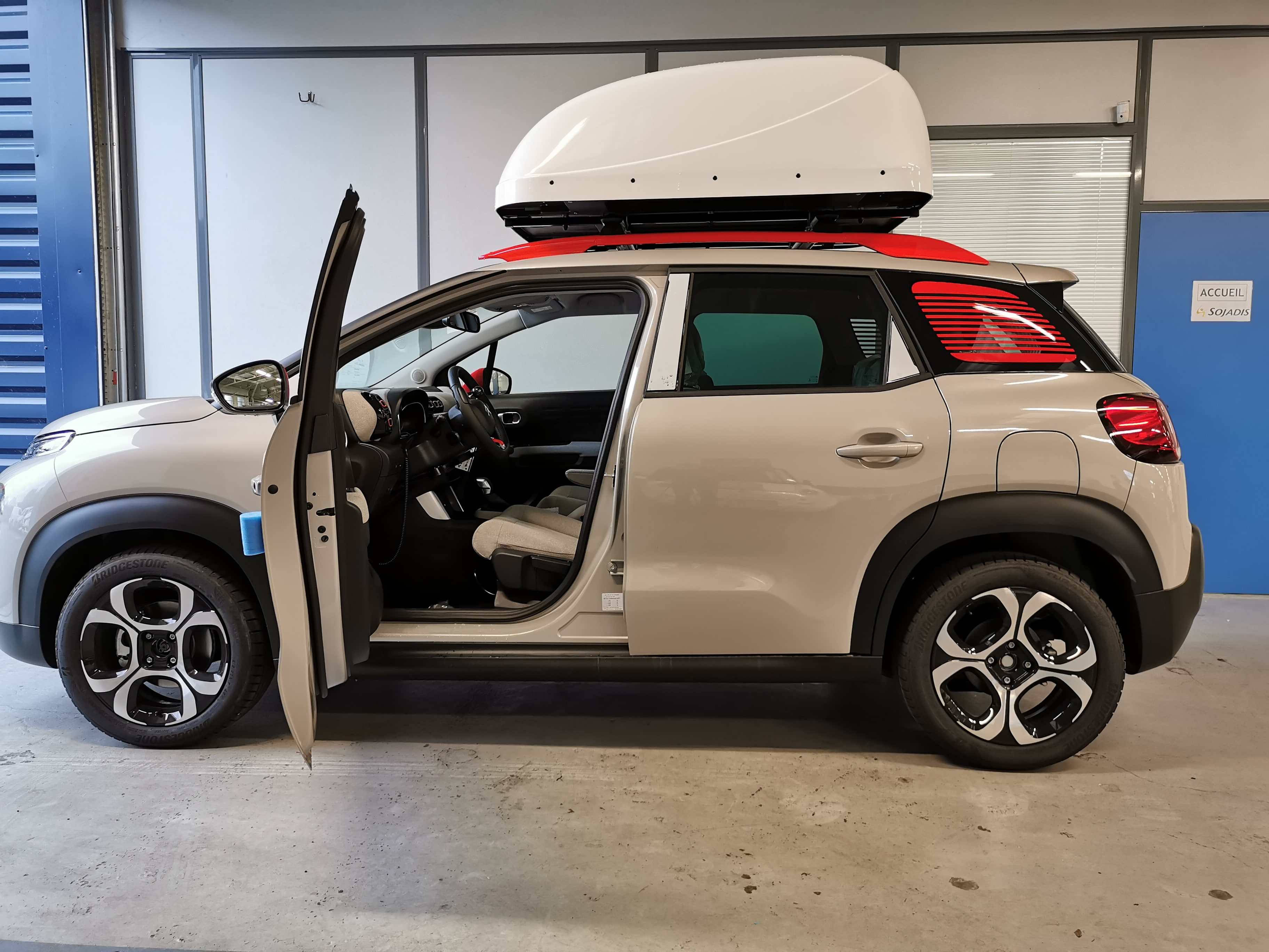 CITROEN C3 AIRCROSS CHAIRTOPPER