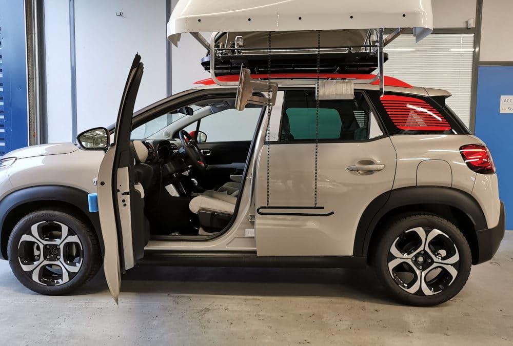Aménagement handicap sur Citroën C3 Aircross