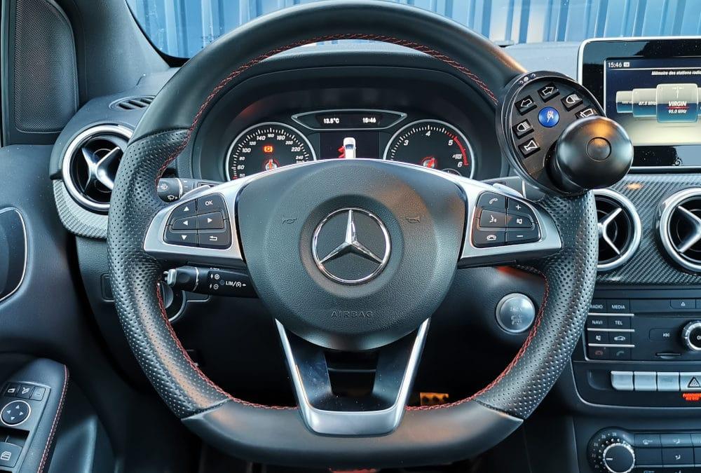 Adaptation de commandes au volant sur Mercedes Classe B