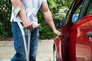 handicapé voiture