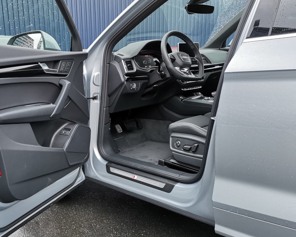 Conduite pied gauche pedale a gauche Audi Q5
