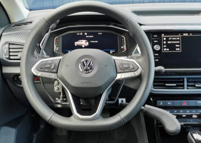 Installation de commandes au volant sur Volkswagen T-Cross