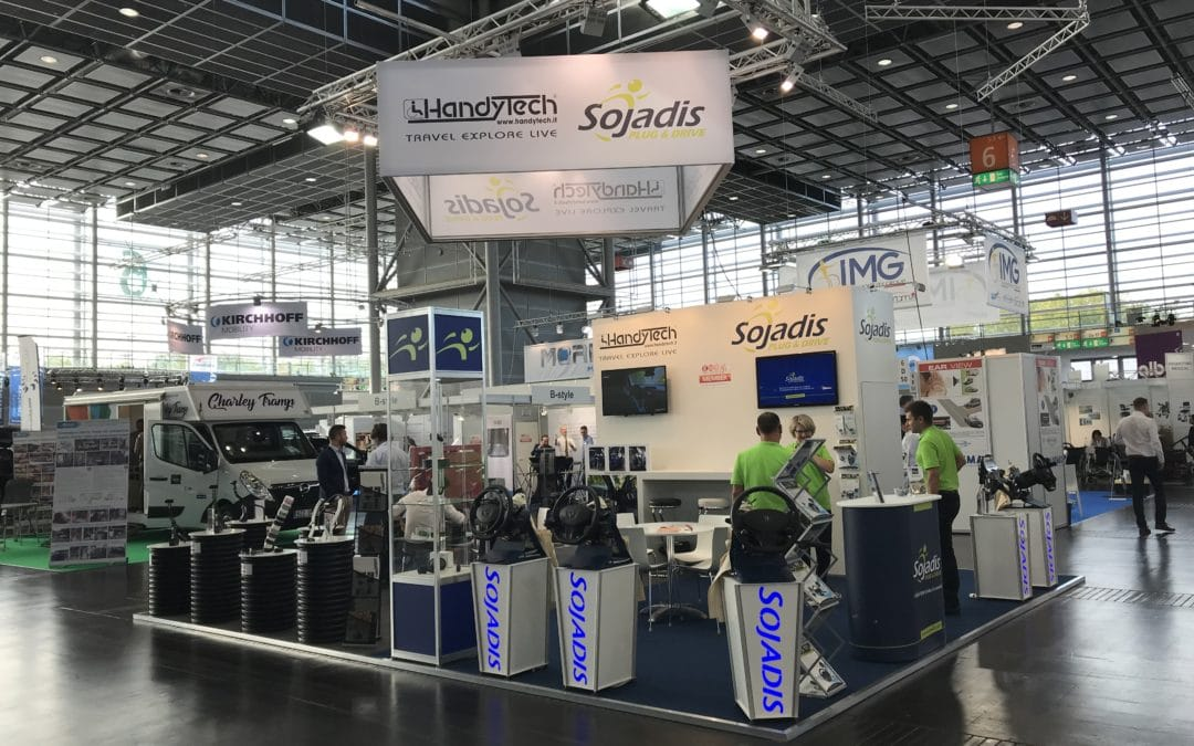 Back to the REHACARE 2018 trade fair in Düsseldorf