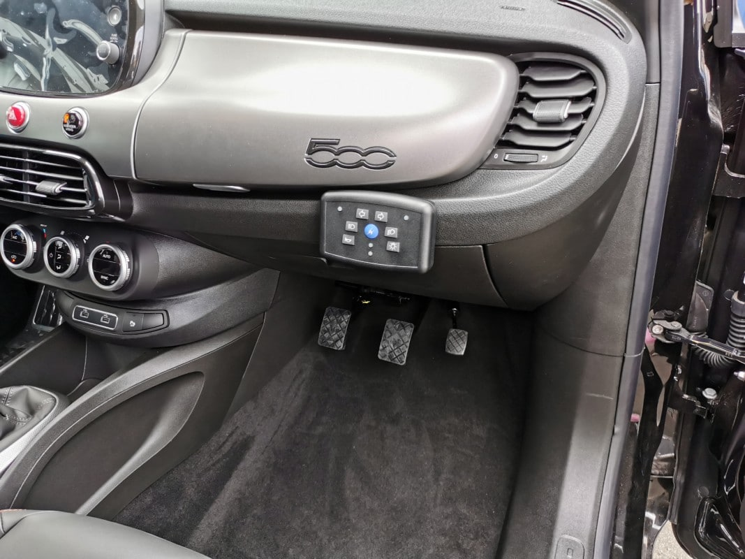 Boîtier MONIDIS sur Fiat 500 X