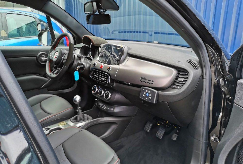 Transformation auto-école sur Fiat 500 X