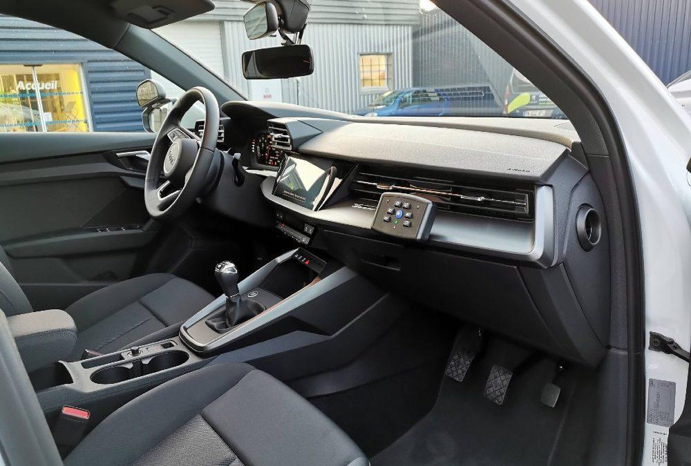 Transformation auto-école sur Audi A3