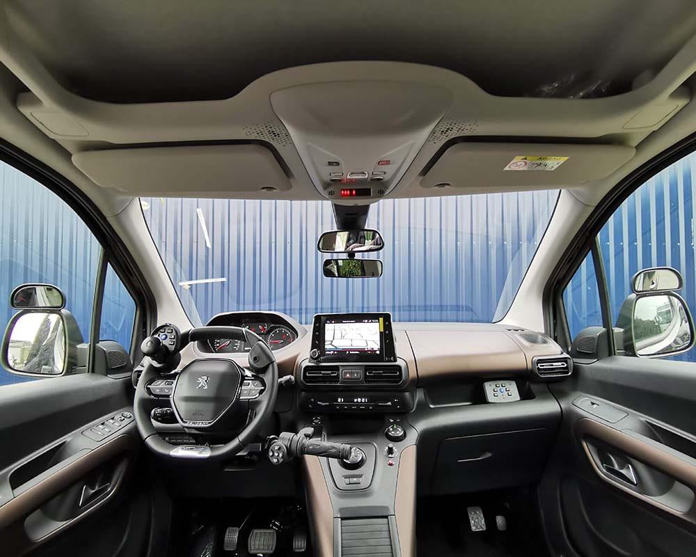 Peugeot Rifter handiconduite