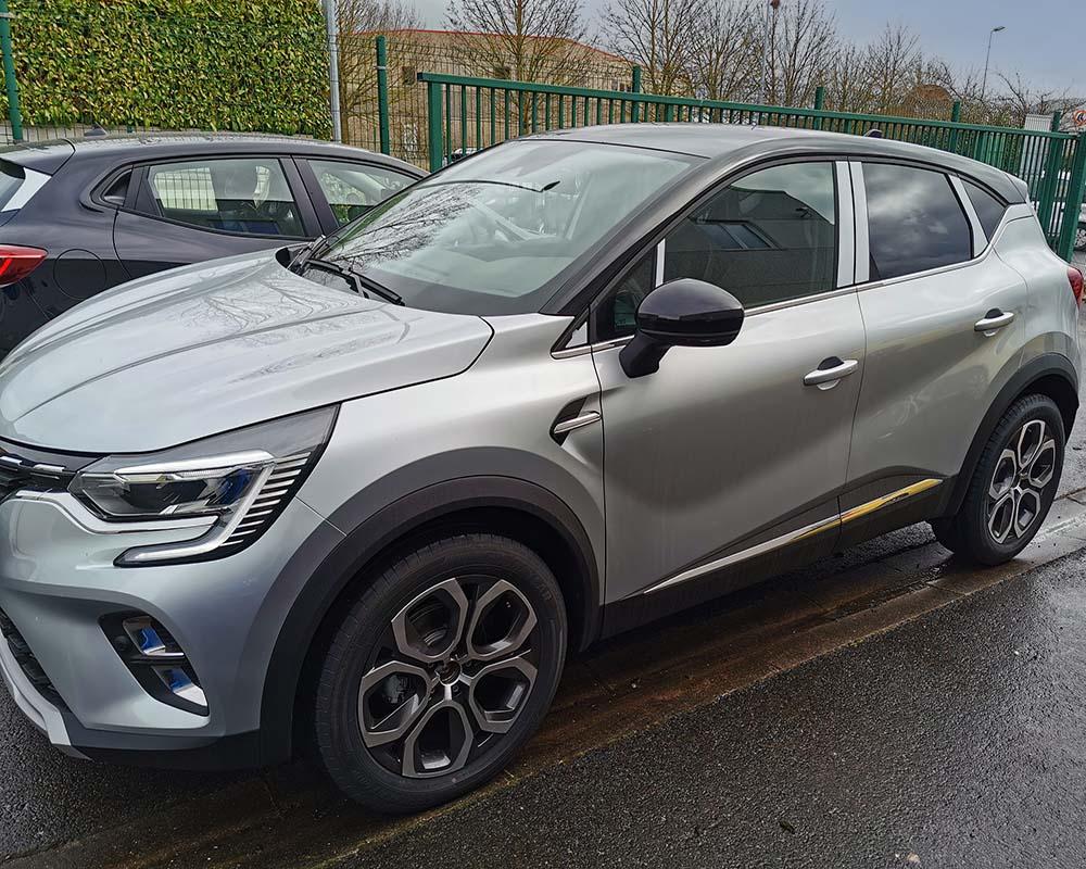 Renault Captur 2021 avec LEFTDIS