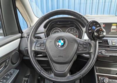 Aménagement d'une boule au volant sur BMW Série II Gran Tourer