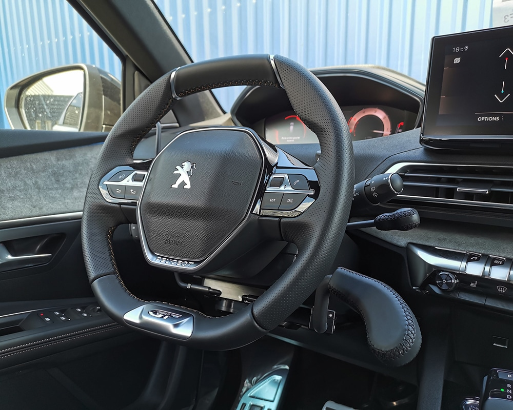 ACCEL III & STOPDIS II sur Peugeot 5008