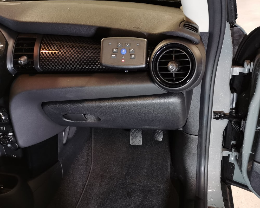 Mini Electri boitier auto-ecole monidis pedalier a tringlerie