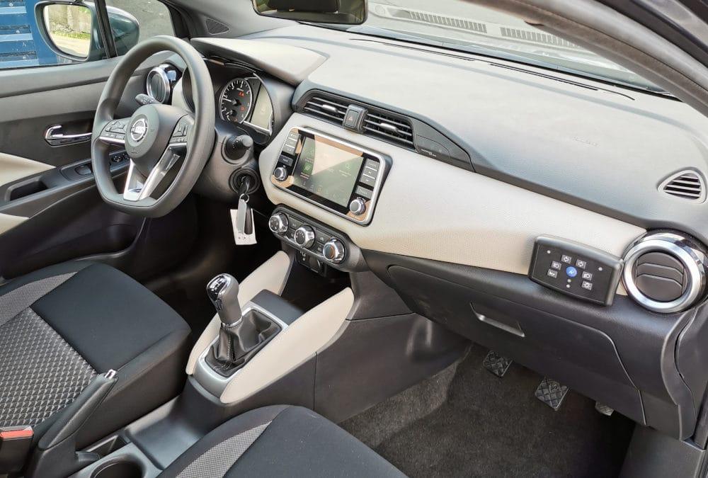 Transformation auto-école sur Nissan Micra