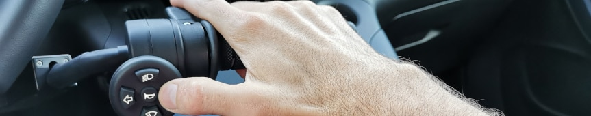 Tester le produit poignée accélérateur frein avec main