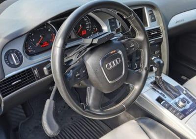 Installation d'un cercle et d'un frein au volant sur Audi A6