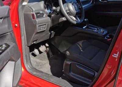 Installation d'un accélérateur au pied gauche sur Mazda CX-5