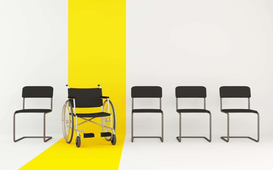 Quand l'accès au divertissement est rendu impossible aux personnes en fauteuil (ou autres handicaps)