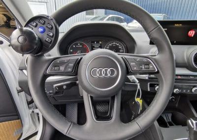 Installation d'une boule au volant sur Audi Q2