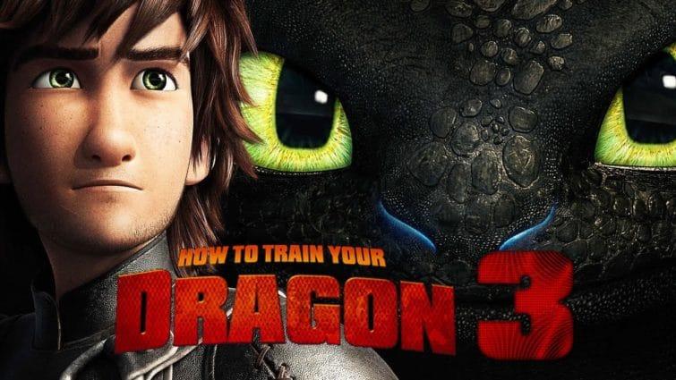 Dragons, un dessin animé et des handis dans le paysage