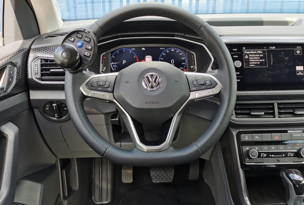 Installation de commandes handicap sur Volkswagen T-Cross