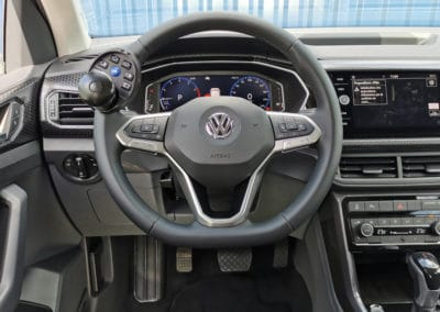 Installation de commandes handicap sur Volkswagen T-Cross