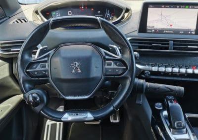 Adaptation de commandes au volant sur Peugeot 3008
