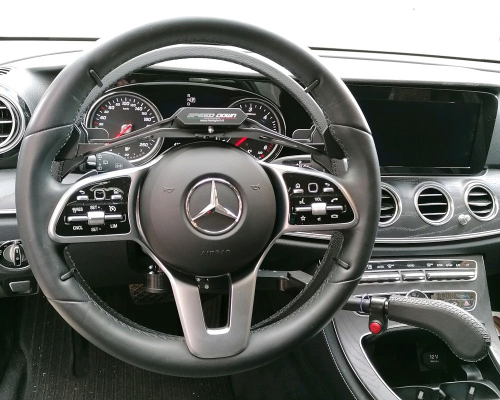 mercedes classe e - cercle accélérateur frein
