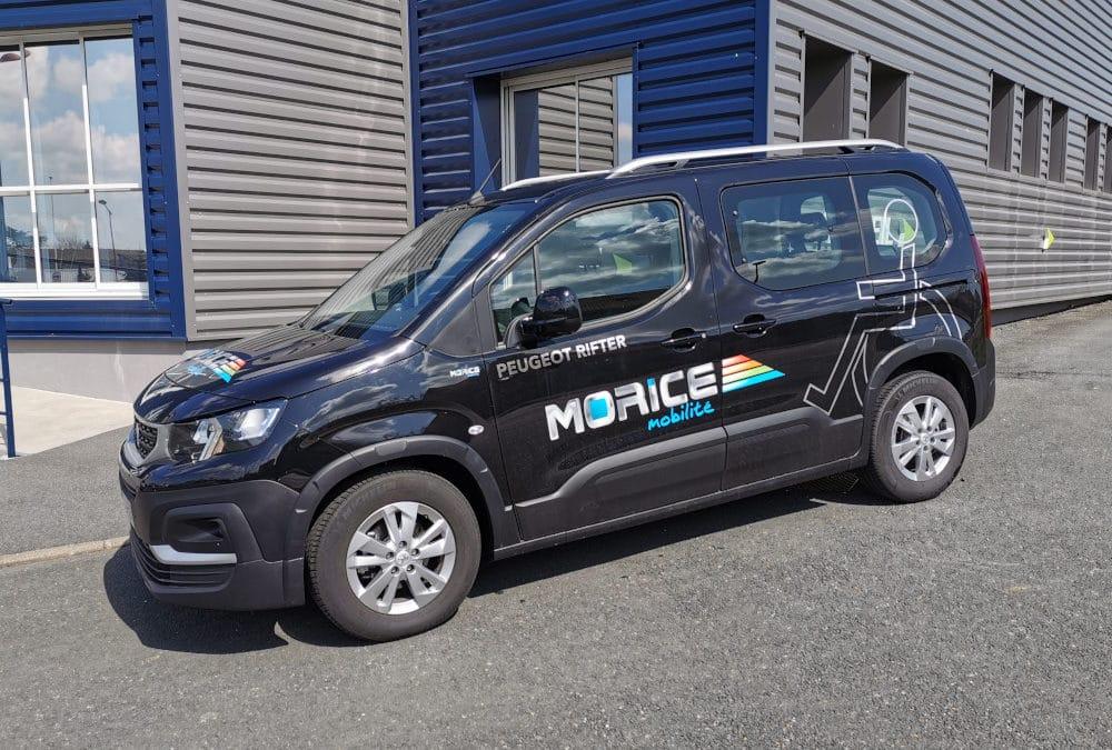 Partenariat Morice Constructeur & SOJADIS Équipement : le Peugeot Rifter Handi'Air, un véhicule TPMR à découvrir et tester