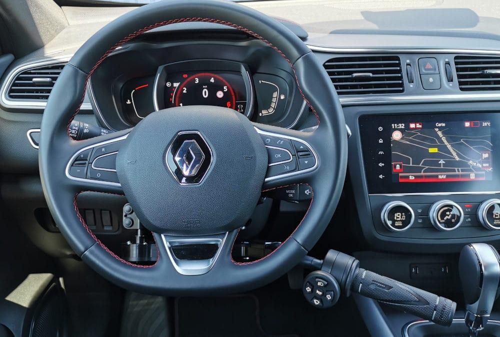 Adaptation de commandes au volant sur Renault Kadjar